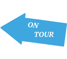 On Tour Sign