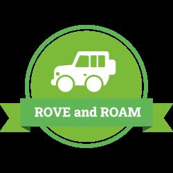 Rove and Roam logo